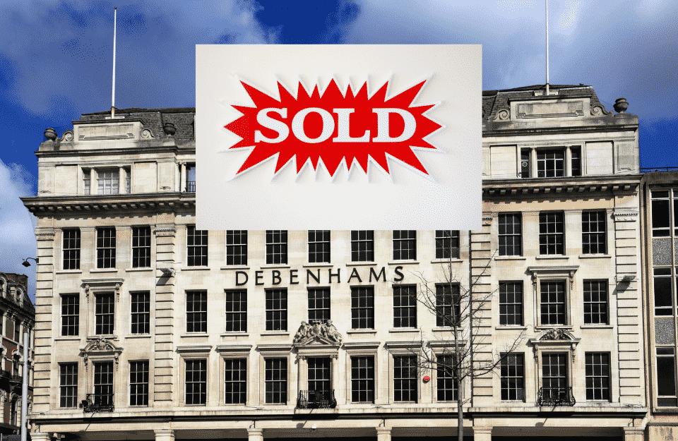 Boohoo Acquires Debenhams For £55m